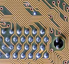 labyrinthine circuit board lines par quapan