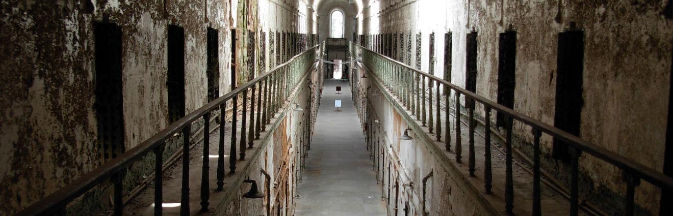 Le site historique du pénitencier de Eastern State, Philadelphie, Pennsylvanie, États-Unis