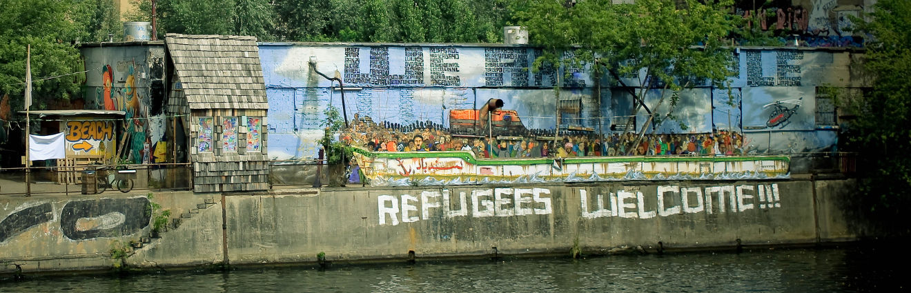 Espaces du vivre ensemble : lien social entre populations locales et demandeurs d'asile