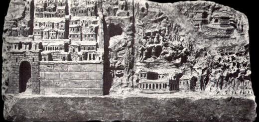 vignette Walled Roman City, 1st Century AD,  Avezzano Italy