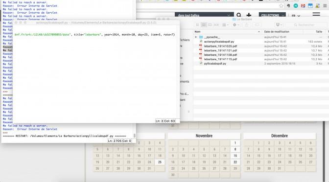 Pyllica: un outil de récupération automatisée de données sur gallica.bnf.fr