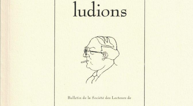 """Parution: Actes de la journée d'étude """"Fargue et les médias"""", Ludions n° 17, 2017"""