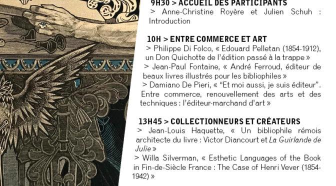 Journée d'étude «Les Architectes du livre II», Université Paris Nanterre, 15 décembre 2017