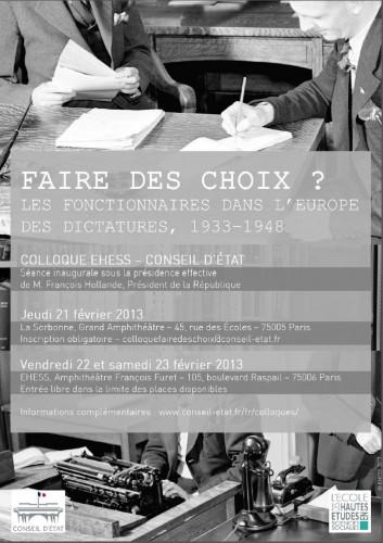 Affiche colloque © EHESS (par Arnaud Dattola)