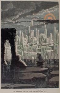 """""""Ne dirait-on pas une ville étrange ?"""" Jules Verne : Voyages extraordinaires, aventures du capitaine Hatteras au pôle Nord. Paris : Hetzel, 189?. Lyon 1, Musée d'anatomie"""