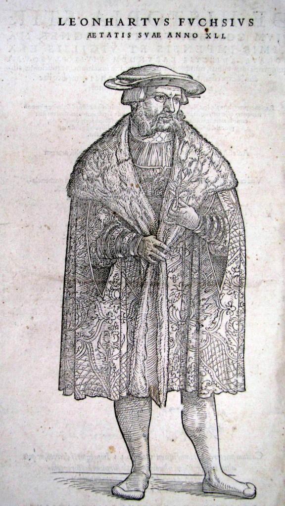 Leonhard, Fuchs. De historia stirpivm commentarii insignes...Basileae, In officina Isingriniana, 1542. Cote 1646.