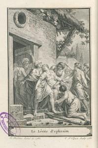 Gravure du tome XVII, d'après un dessin de J.-J. Barbier