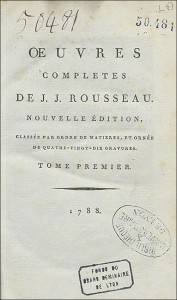 Page de titre du tome Ier