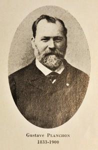 Portrait de Gustave Planchon