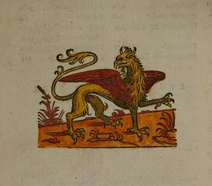 La marque d'éditeur-imprimeur accompagnée d'une devise latine : « Virtute duce, comite fortuna »