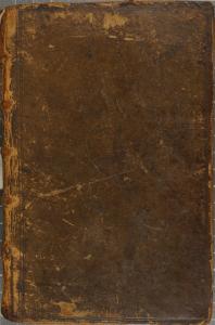 Reliure en basane pleine, érafluresDonat. Aelii donati commentarii grammatici tres. 1543. Cote : 1R 34641