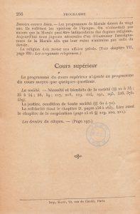 Jules Payot, La morale à l'école (1908). La légitimité d'une morale laïque déconfessionnalisée, indépendante de la religion et du dogme, est l'une des questions centrales des guerres scolaires. Ce commentaire de l'auteur sur le programme officiel des classes de cours moyen est à cet égard significatif, tout comme la mention selon laquelle la « religion doit rester une affaire privée », trois ans après la loi de séparation des églises et de l'Etat, survenue en 1905.