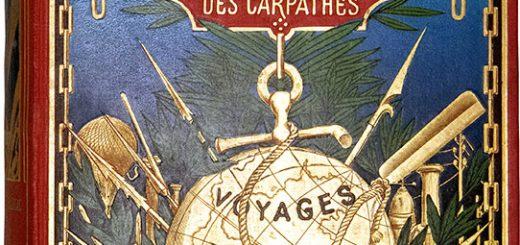 Jules Verne, Le Château des Carpathes, Paris, J. Hetzel et Cie, 1892, Cartonnage