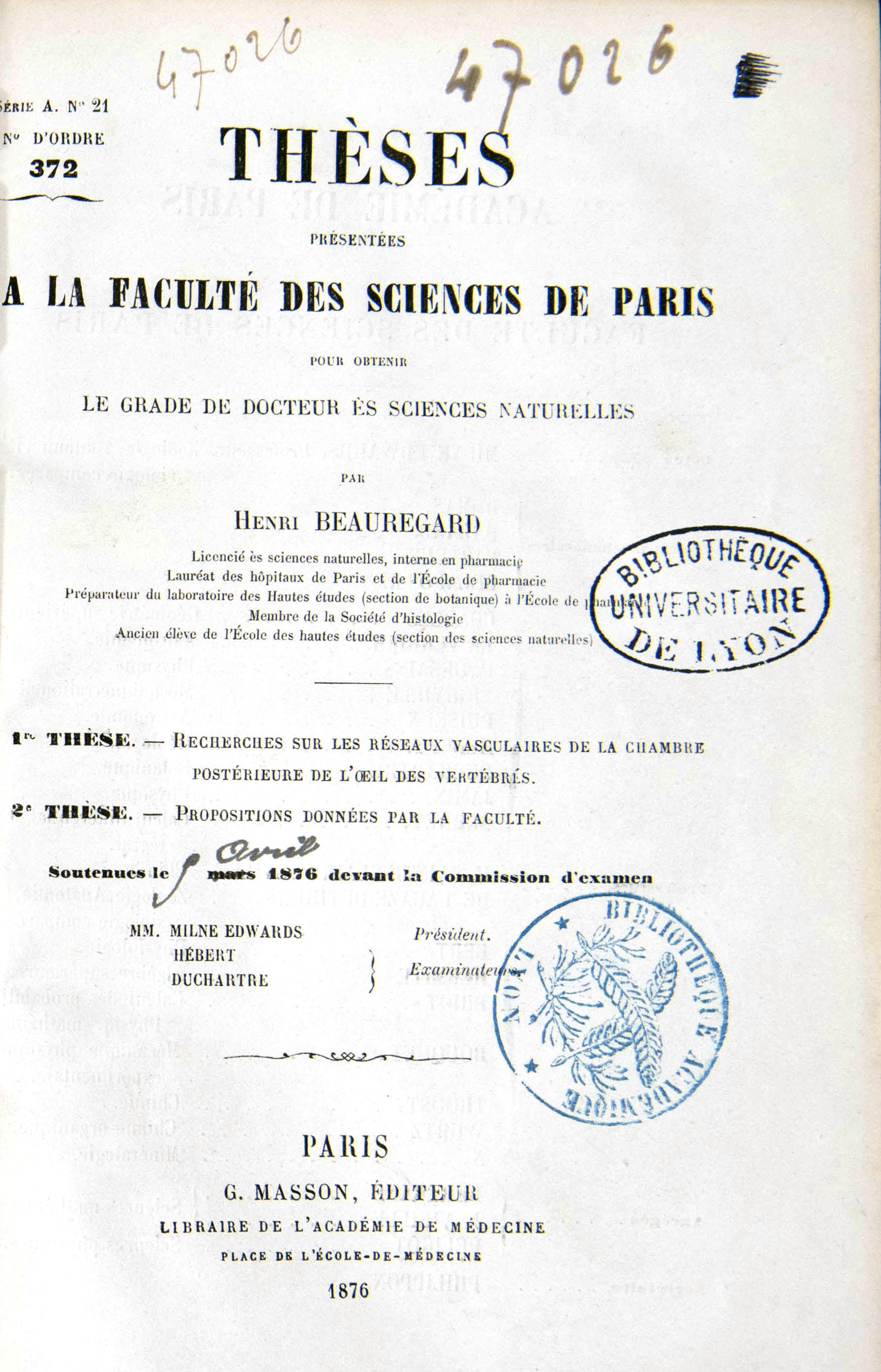 Henri Beauregard (1)