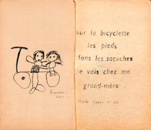 Les Petits des Commards, journal scolaire mensuel, 2e année, avril 1960