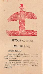Le Briol, journal scolaire, 7e année, n° 42, décembre-janvier 1952