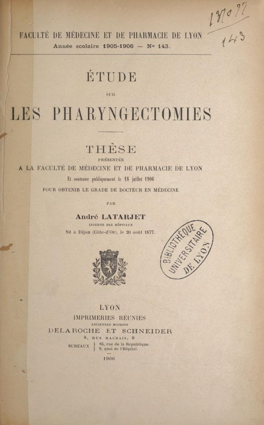 Latarjet 1