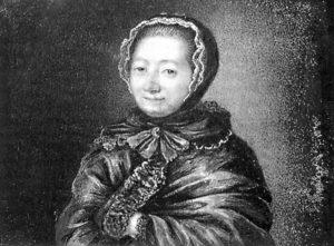 Portraitemprunté àl'ouvrage MadameLeprince deBeaumontintime: avecsesprincipauxcontes etdesdocumentsinédits deJeanMarieRobain