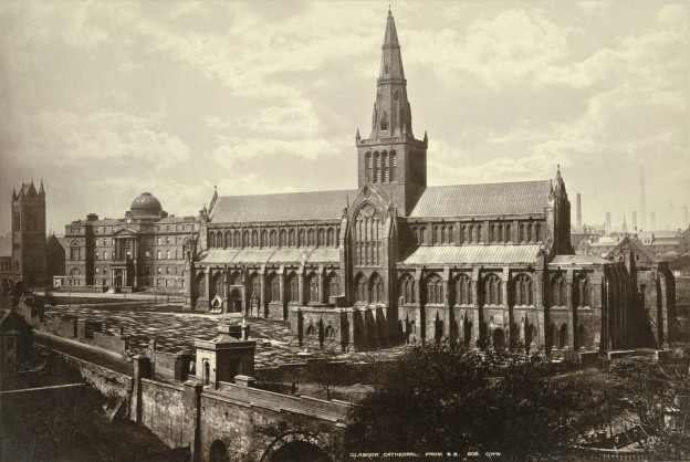 Glasgow Cathedral from the Southeast Collection: A. D. White Architectural Photographs, Cornell University Library https://www.flickr.com/photos/cornelluniversitylibrary/3610811585/