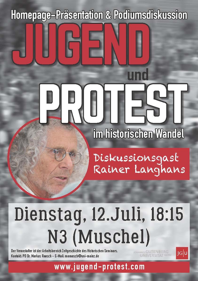 Jugend und Protest Einladung