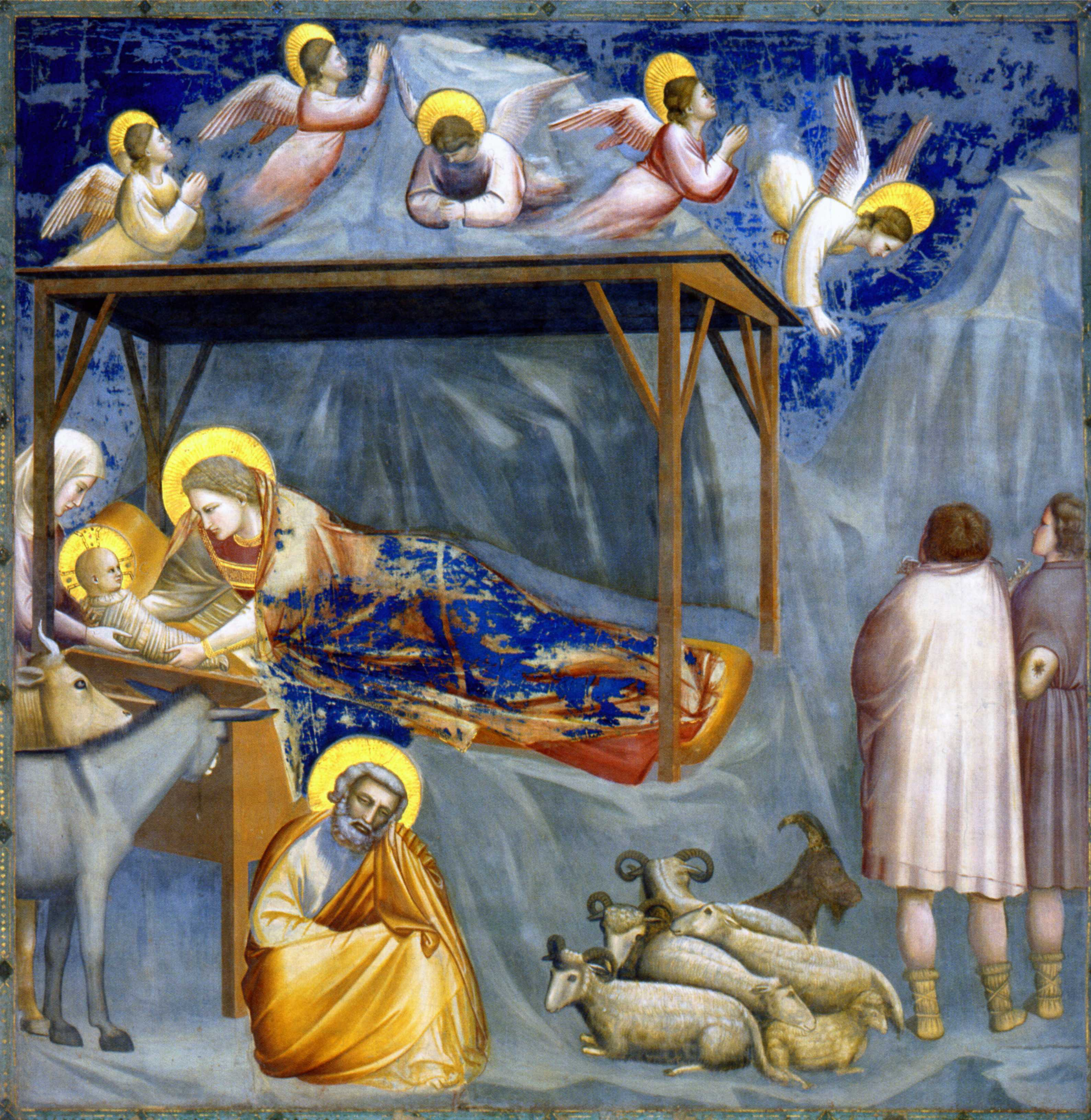 Nativité de Giotto