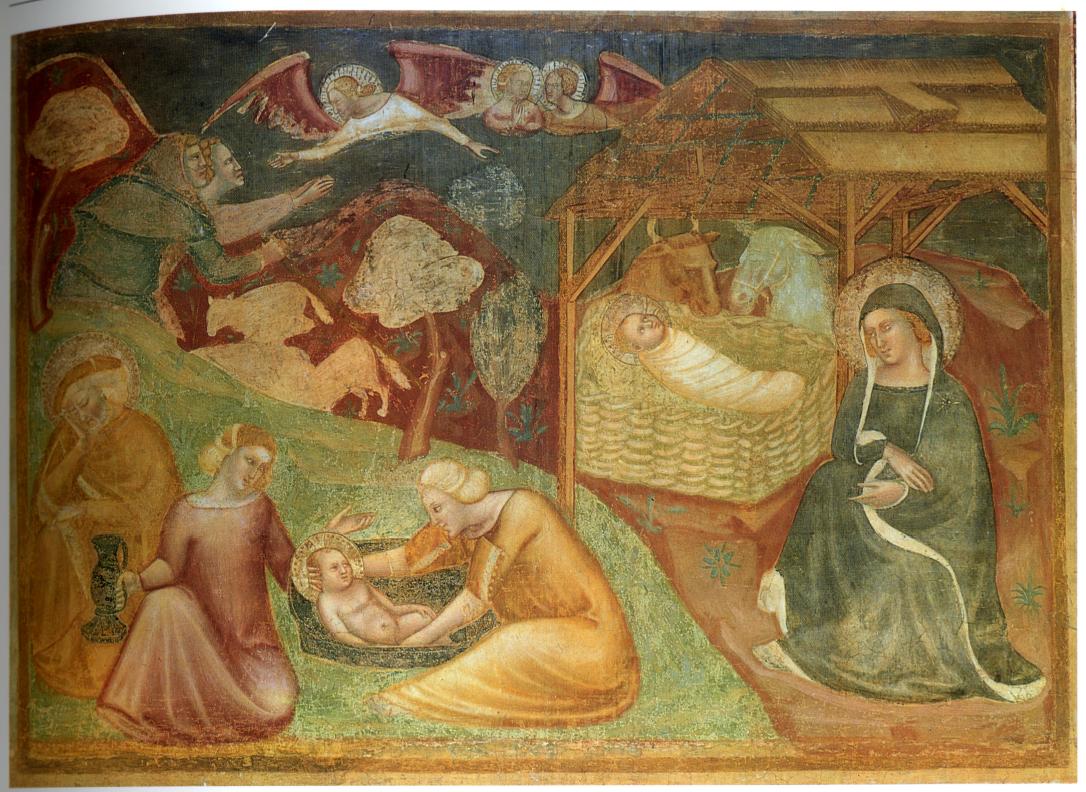 XIV An Bolognais Pomposa Abbaye Natività