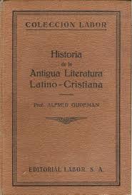 literatura latinocristiana gudeman