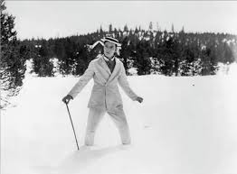 buster keaton snow