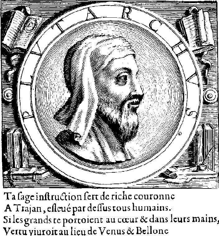 Plutarco representado en la edición de Amyot