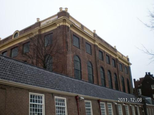 La preciosa Sinagoga de los Portugueses en Ámsterdan