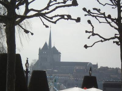 La ciudad de Ginebra, donde Borges leyó por primera vez la primera bucólica de Virgilio