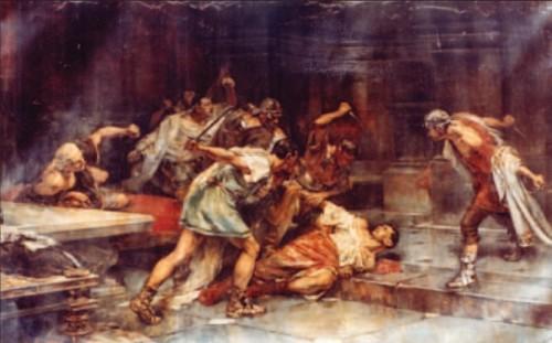 La muerte de Sertorio, de Vicente Cutanda