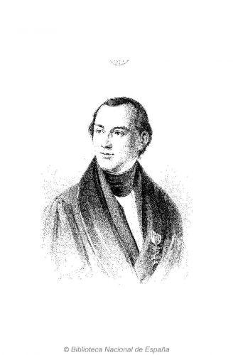Frontispicio del primer tomo de la Historia de la Literatura Griega de Otfried Müller (1858), en el ejemplar digitalizado por la BNE que fue propiedad de Luis Usoz