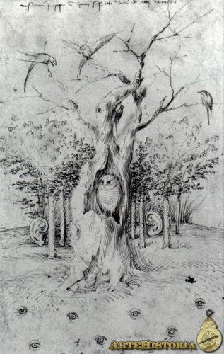 """El Bosco, """"El bosque tiene oídos, el campo tiene ojos"""""""