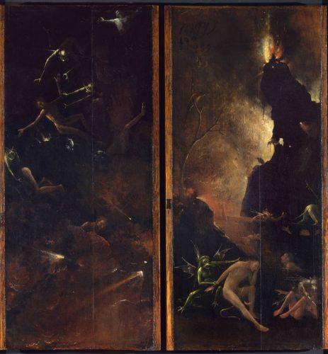 'Visiones del Más Allá': Infierno. (1486) Venecia, Segretariato Regionale per il Veneto. Gallerie dell'Accademia. In deposito museale presso il Museo di Palazzo Grimani