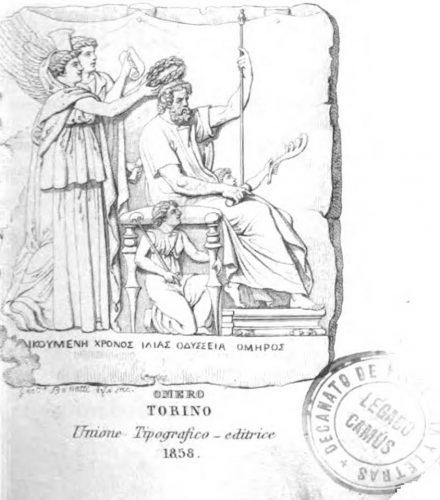 Una de las dos ediciones italianas del manual de Otfried Müller, que fue propiedad de Alfredo Adolfo Camús