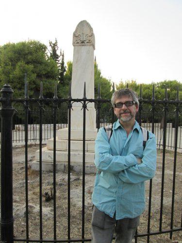 La tumba de Karl Otfried Müller en Colono (Atenas) (fotografía de María José Barrios Castro)