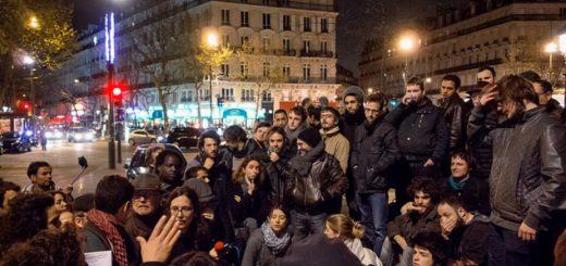 Nuit debout, le 16 avril 2016 à Paris. Olivier Ortelpa/Flickr, CC BY