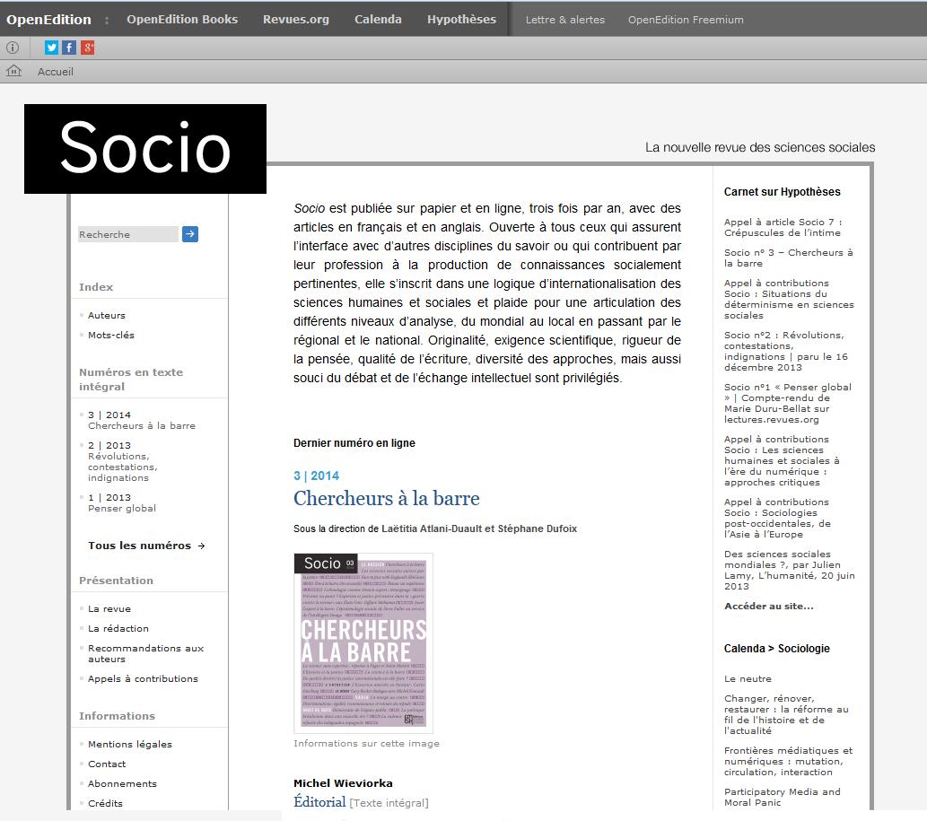 socio.revues.org