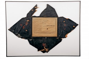 Envelope that contained mobilisation orders for the French army, Historial collections