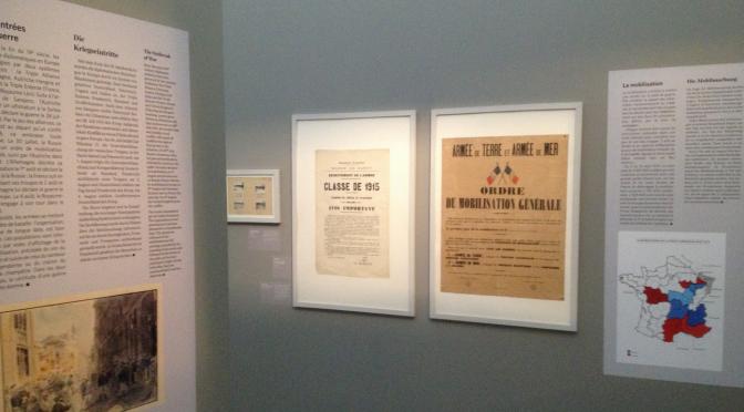 """Exposition """"Été 1914, Nancy et la Lorraine dans la guerre"""" : une visite"""