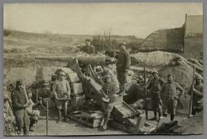 Soldats français dans la Somme. Coll. Historial de la Grande Guerre.