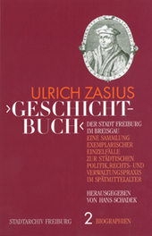 >Geschichtbuch< der Stadt Freiburg i. Br.