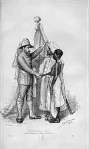 Jérôme Becker, La vie en Afrique ou trois ans dans l'Afrique centrale, Paris, J. Lebègue, 1887, t. II, p.329.