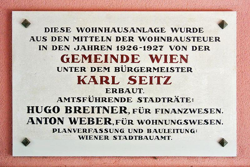 Gedenktafel Bieler Hof