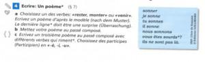 Alamargot, Gérard et al. (2005) : Découvertes 2. Stuttgart et al. : Klett, p. 26.