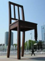 UN Geneva Broken Chair
