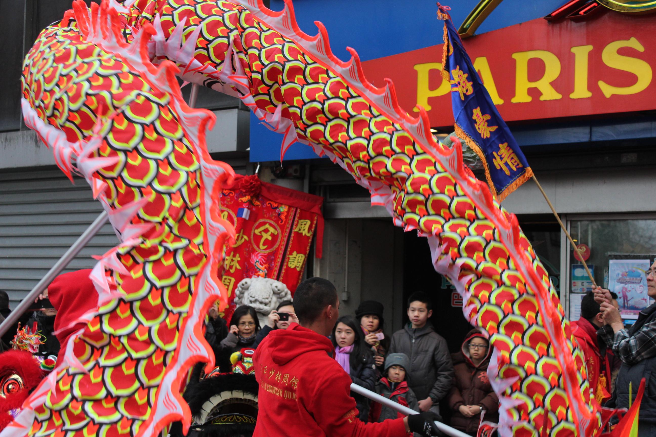 Jing WANG - Nouvel an chinois - Le monde refait - Dragon a Paris