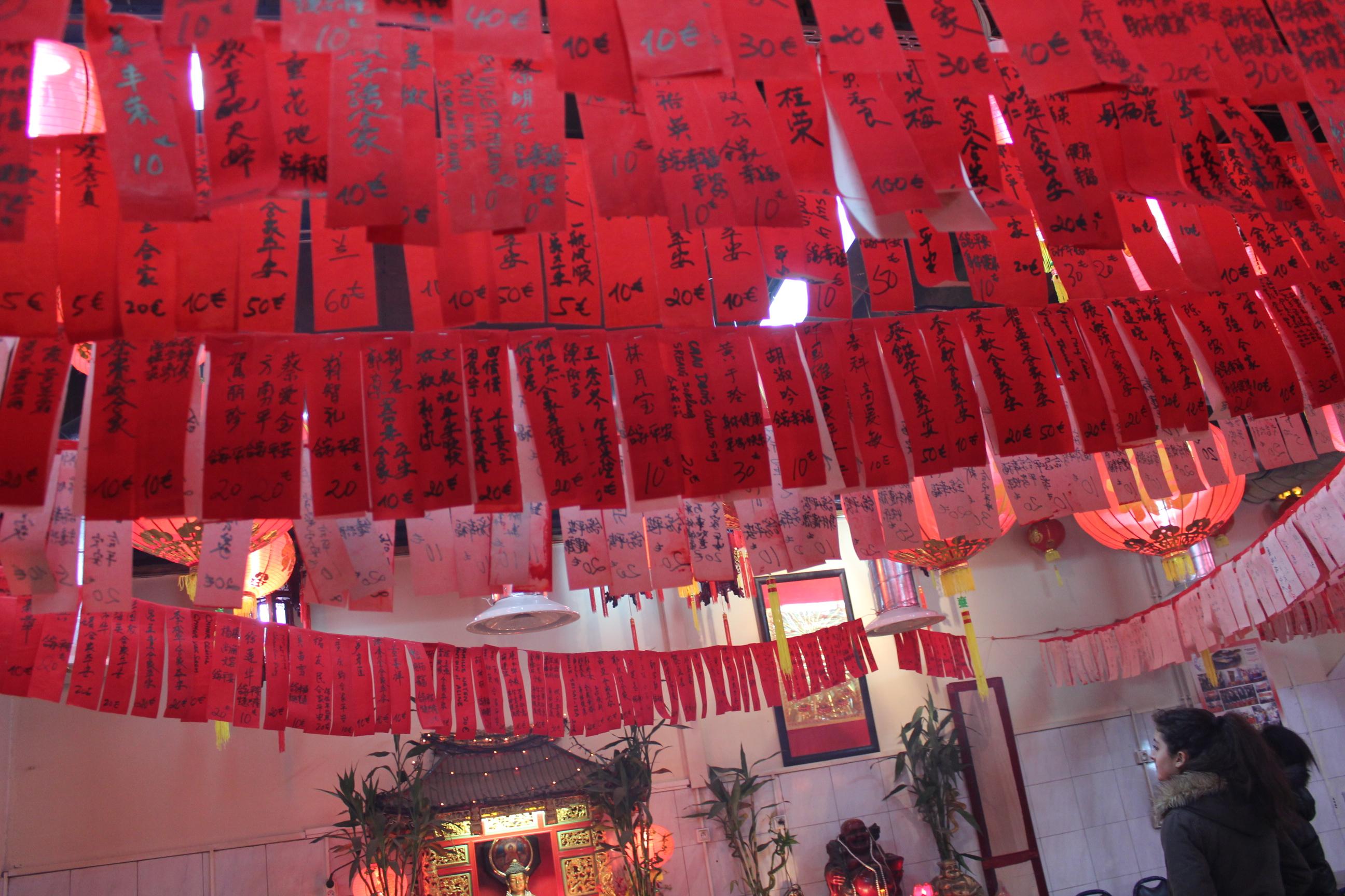 Jing WANG - nouvel an chinois - le monde refait - les voeux de la communaute religieuse