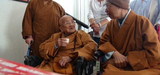 L'abbesse Yingkong, née en 1921. Crédit photographique : Catherine Despeux